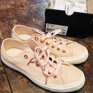 ⚡️SALE⚡️ Converse Pastel Rose Leather